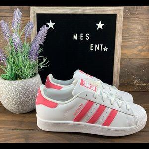 Adidas Superstar Juniors/ Womens Shoes